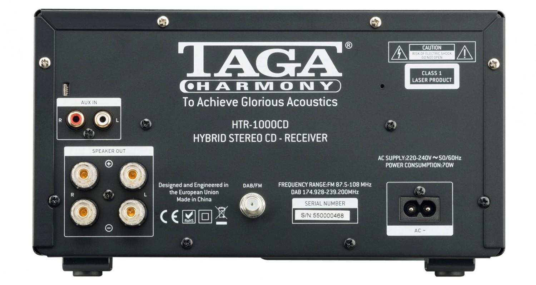 Stereoanlagen Taga HTR-1000CD + Azur S-40 V.2 im Test, Bild 3