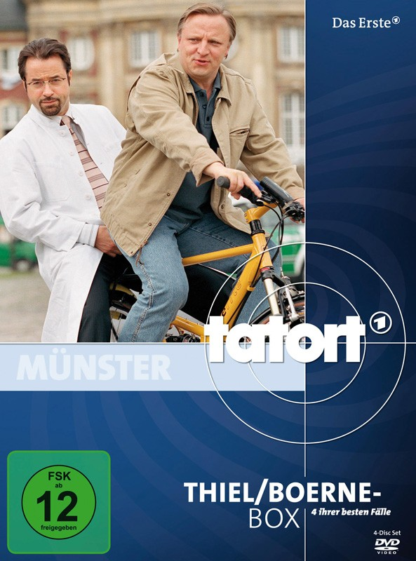 DVD Film Tatort: Thiel/Boerne-Box (Walt Disney) im Test, Bild 1