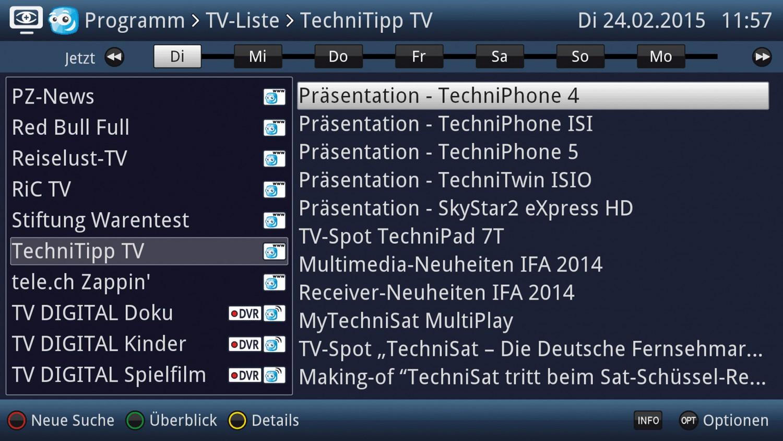 HDTV-Settop-Box Technisat TechniCorder ISIO STC im Test, Bild 4