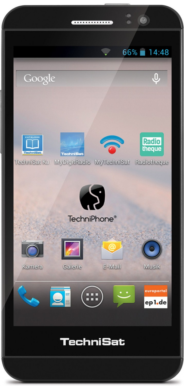 Smartphones Technisat TechniPhone 5 im Test, Bild 4