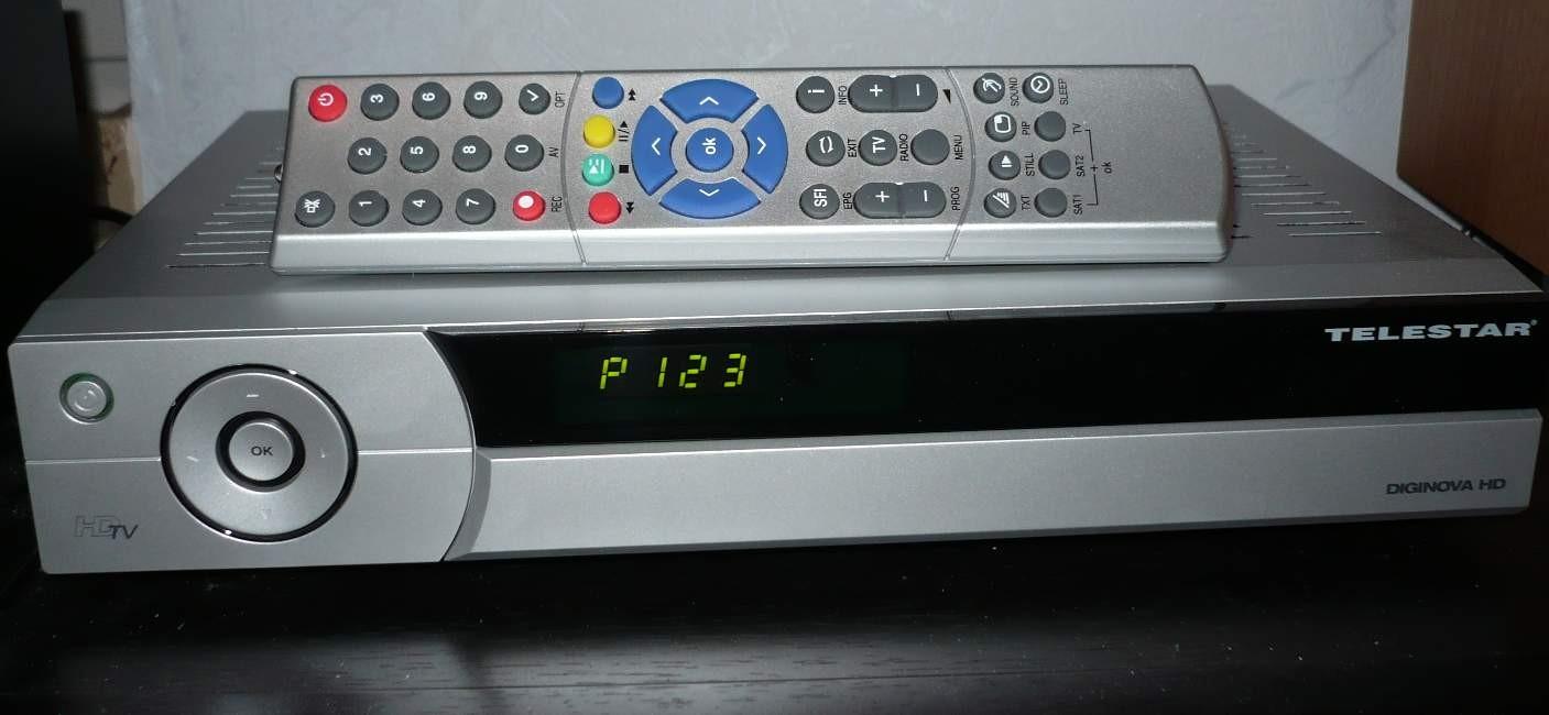test sat receiver ohne festplatte telestar diginova hd. Black Bedroom Furniture Sets. Home Design Ideas