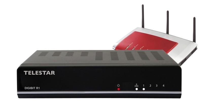 Sat-Anlagen Telestar IP-Client Digibit B1, Telestar IP-Server Digibit R1 im Test , Bild 1