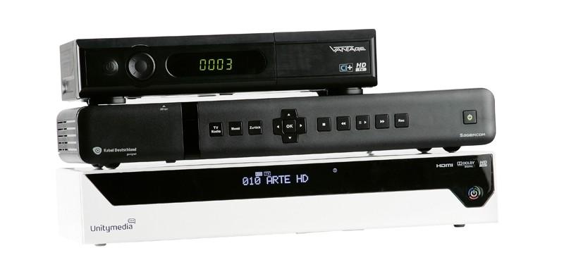 Test Kabel Receiver Ohne Festplatte, Kabel Receiver Mit