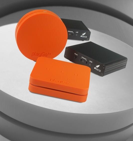 Zubehör HiFi: Test: Kabellose Übertragungssysteme von PlayGo und Audiofly, Bild 1
