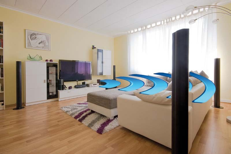 test lautsprecher surround teufel columa 300 wireless sehr gut seite 1. Black Bedroom Furniture Sets. Home Design Ideas