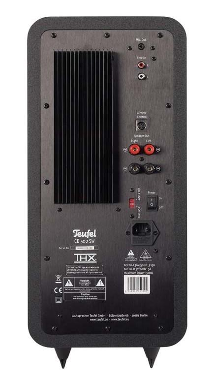 Lautsprecher Multimedia Teufel Concept D 500 THX im Test, Bild 3