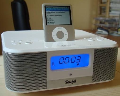 Uhrenradios Teufel iTeufel Clock im Test, Bild 1