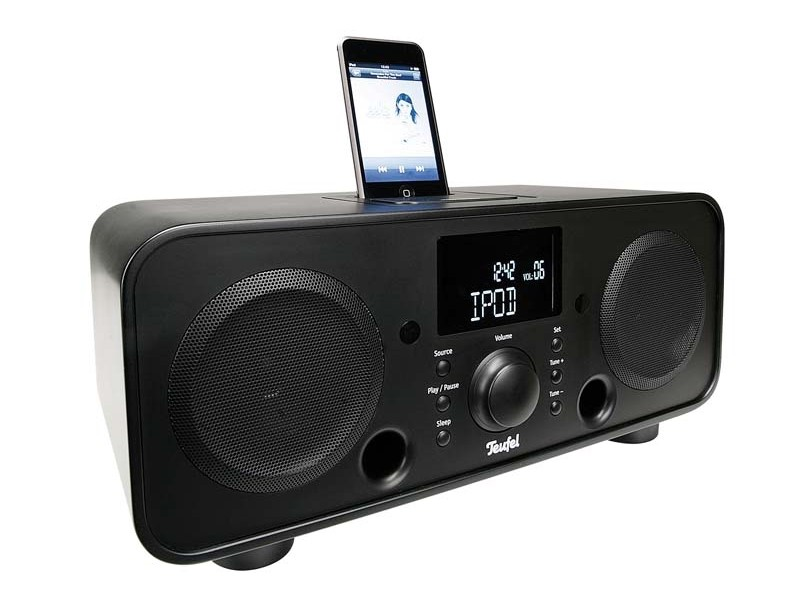 test docking stations teufel iteufel radio v2 sehr gut seite 2. Black Bedroom Furniture Sets. Home Design Ideas