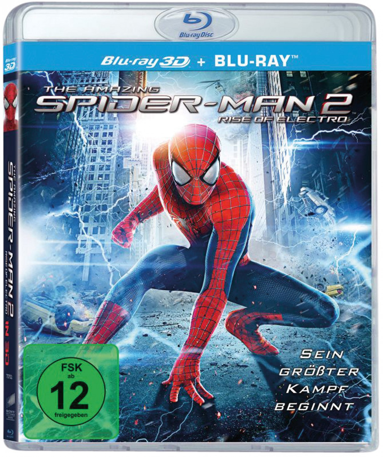 Blu-ray Film The Amazing Spider-Man 2: Rise of Electro (Sony) im Test, Bild 1