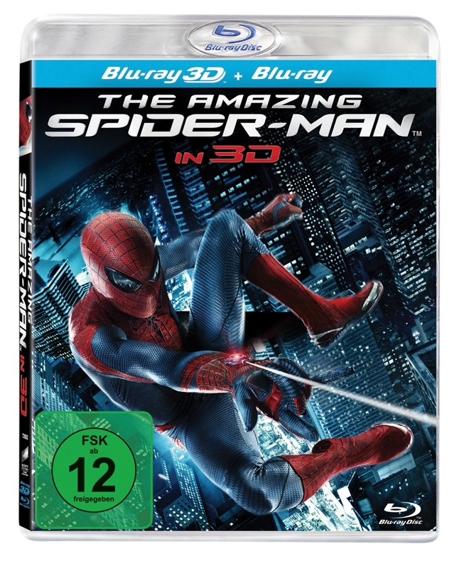 Blu-ray Film The Amazing Spider-Man (Sony Pictures) im Test, Bild 1