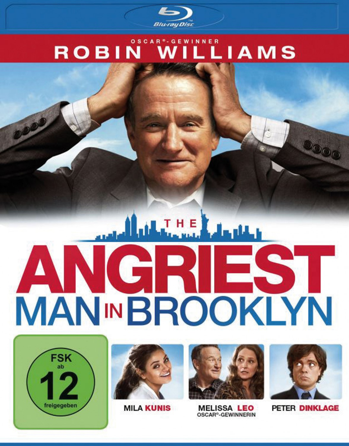 Blu-ray Film The Angriest Man in Brooklyn (Universum) im Test, Bild 1