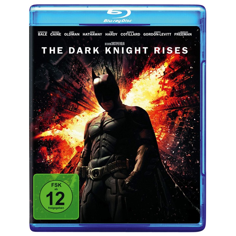 Blu-ray Film The Dark Knight Rises (Warner) im Test, Bild 1