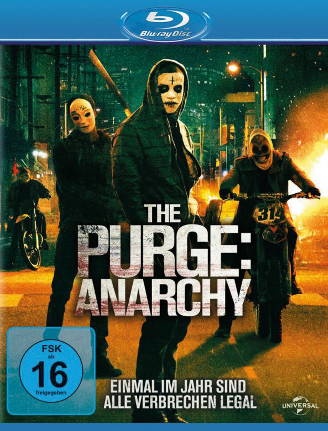 Blu-ray Film The Purge: Anarchy (Universal) im Test, Bild 1