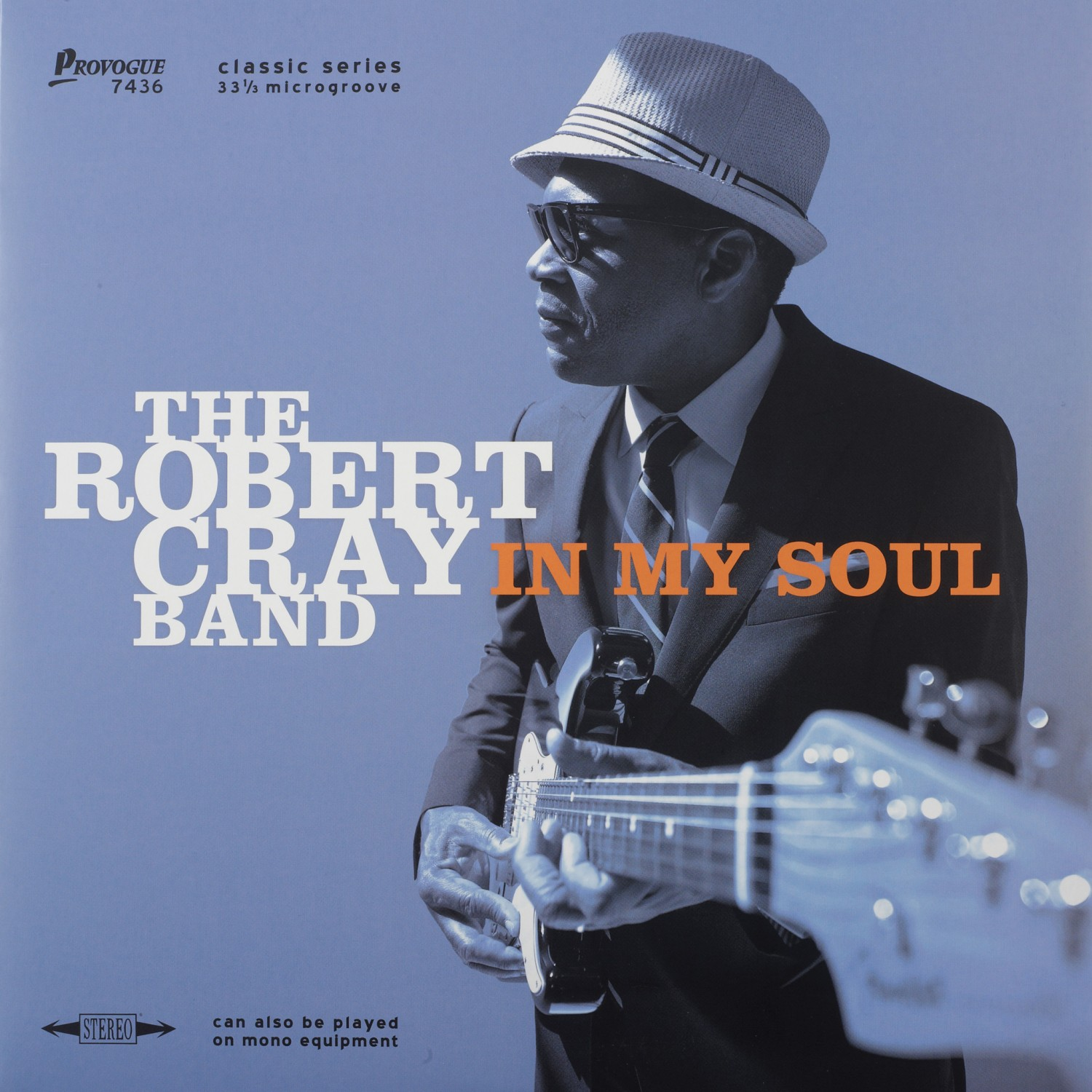 Schallplatte The Robert Cray Band - In My Soul (Provogue Records) im Test, Bild 1