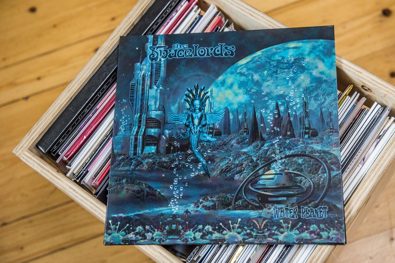 Schallplatte The Spacelords – Water Planet (Tonzonen) im Test, Bild 1