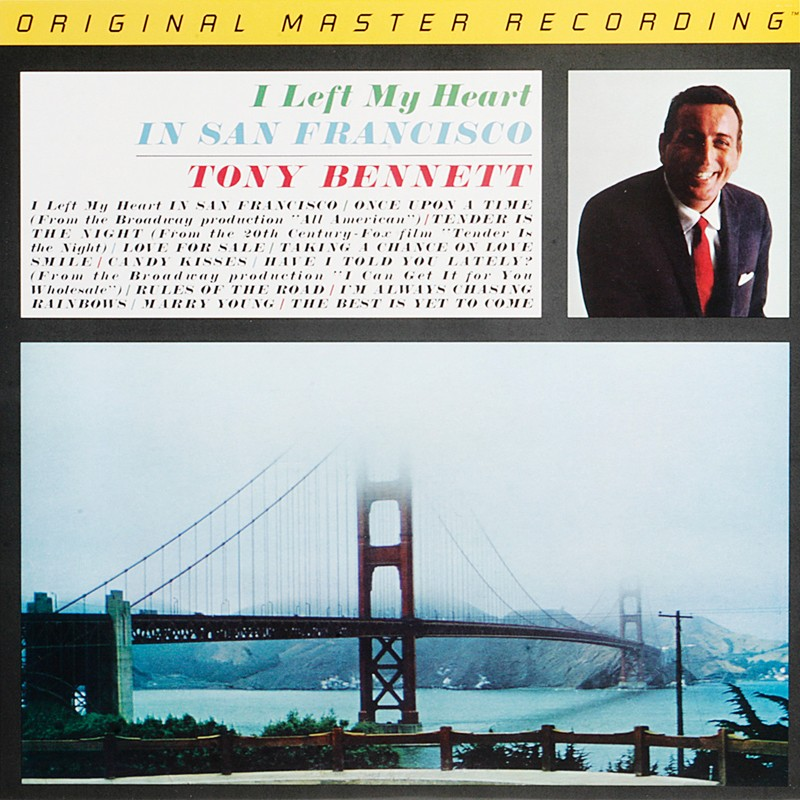 Schallplatte Tony Bennett – I Left My Heart in San Francisco (Mobile Fidelity Sound Lab) im Test, Bild 1