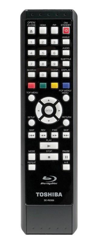 Blu-ray-Player Toshiba BDX2000 im Test, Bild 2