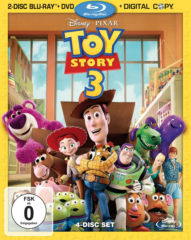 Blu-ray Film Toy Story 3 (Walt Disney) im Test, Bild 1