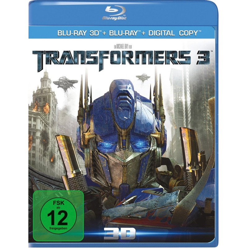 Blu-ray Film Transformers 3 3D (Paramount) im Test, Bild 1
