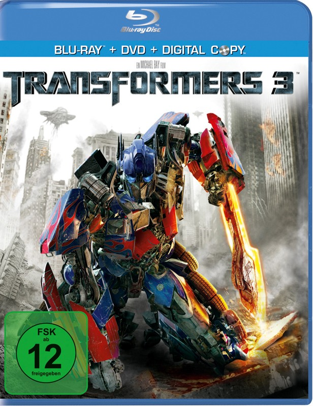Blu-ray Film Transformers 3 (Paramount) im Test, Bild 1