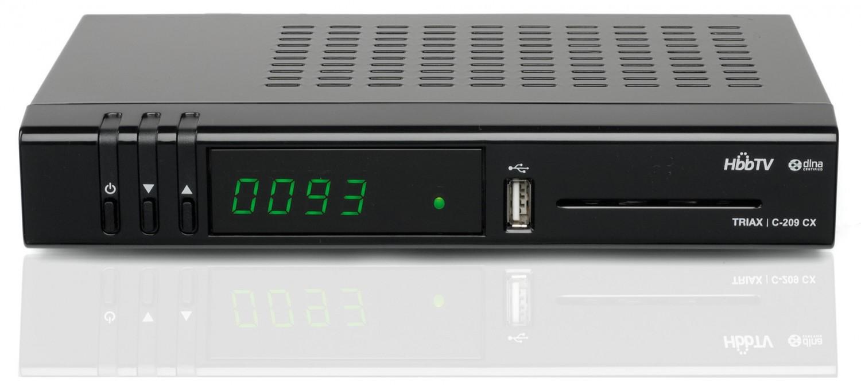Kabel Receiver ohne Festplatte Triax C-209 CX im Test, Bild 1