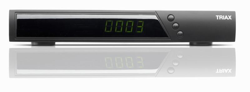 Sat Receiver ohne Festplatte Triax S-150 Hybrid im Test, Bild 1