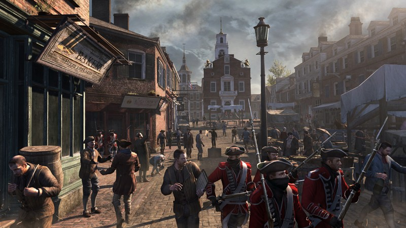 Games Playstation 3 Ubisoft Assassins Creed III im Test, Bild 4