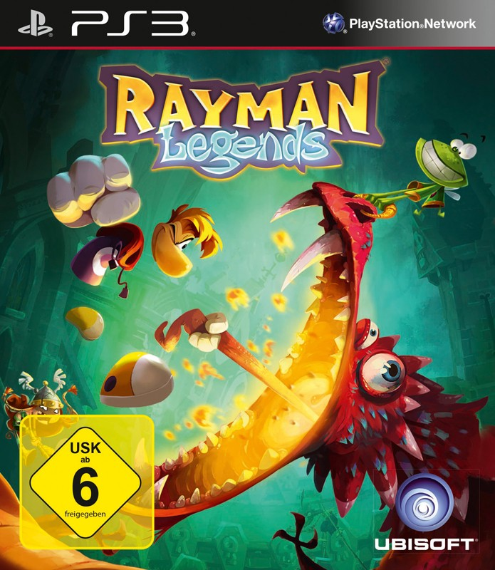 Games Playstation 3 Ubisoft Rayman Legends im Test, Bild 1