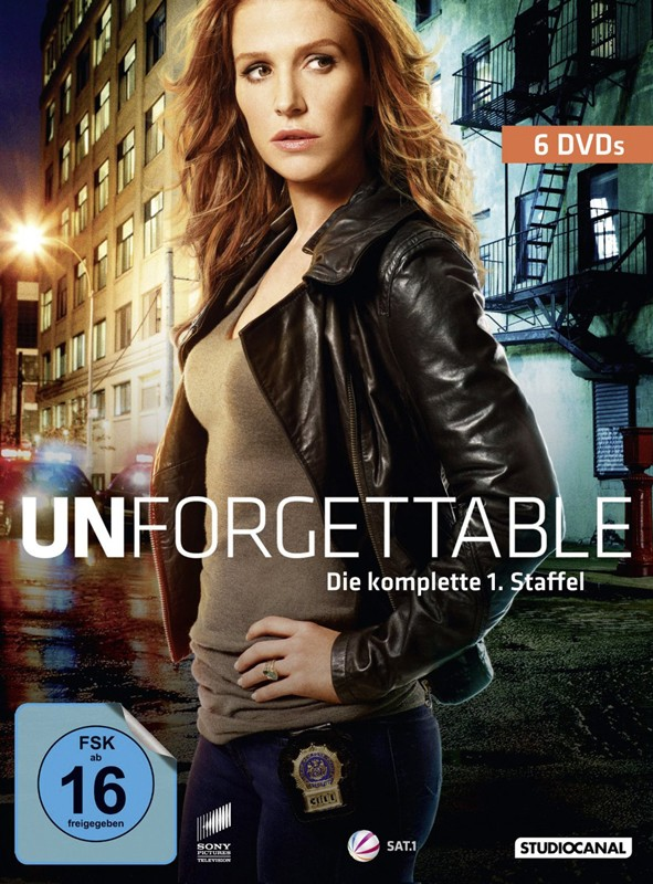 DVD Film Unforgettable – Season 1 (Studiocanal) im Test, Bild 1
