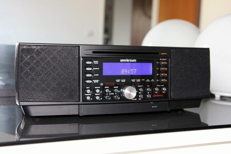 Test Uhrenradios Universum VTC CD 3070 sehr gut