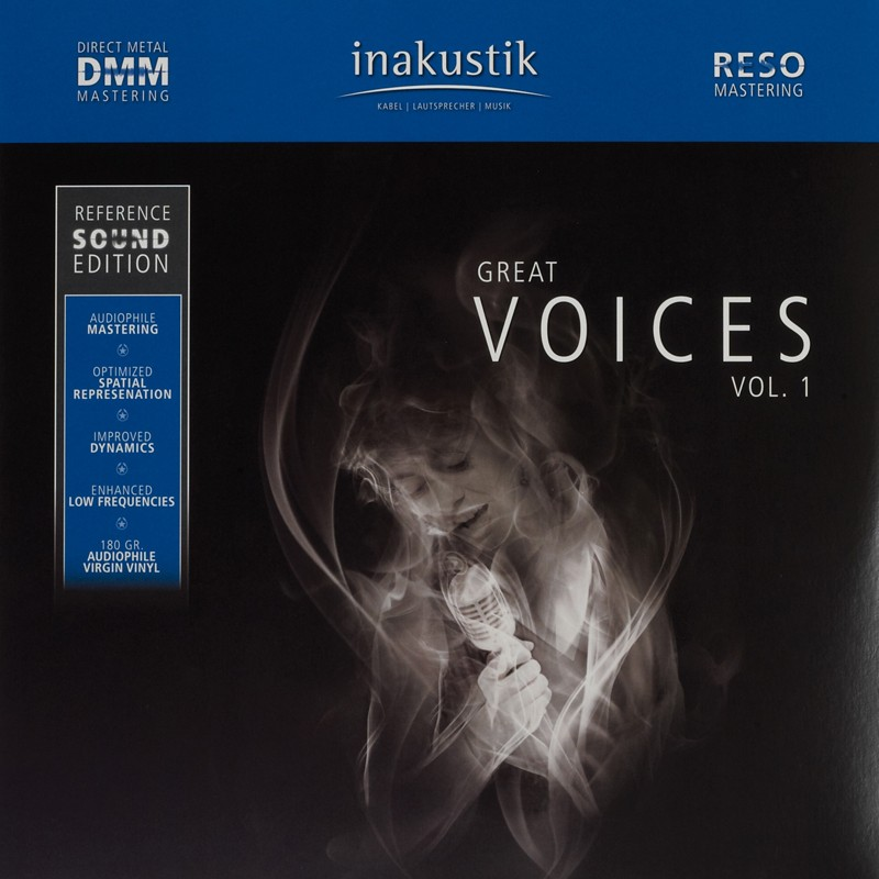 Schallplatte VA – Great Voices Vol. 1 & Great Voices Vol. 2 (Inakustik) im Test, Bild 1