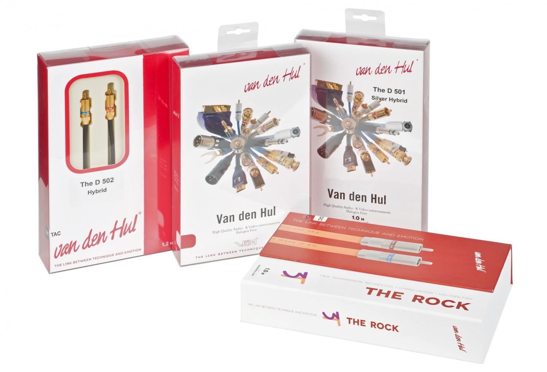 Phonokabel van den Hul D502 Hybrid, van den Hul 3T CS-28, van den Hul D501 Silver Hybrid, van den Hul 3T The Rock im Test , Bild 6