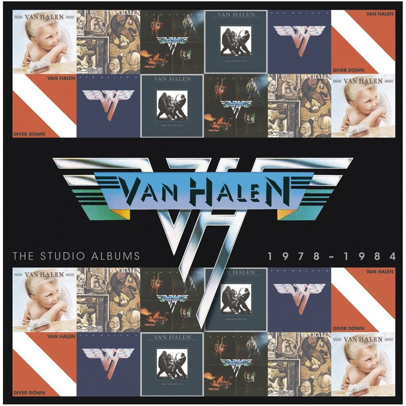 Download Van Halen - Studio Albums 1978 – 1984 (Warner) im Test, Bild 1