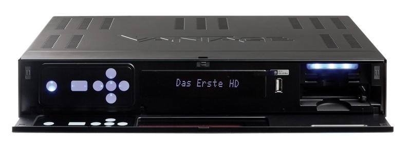 Sat Receiver mit Festplatte Vantage VT-100 HD+ im Test, Bild 2