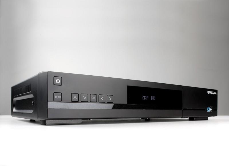 Sat Receiver ohne Festplatte Vantage VT-100S USB PVR im Test, Bild 1