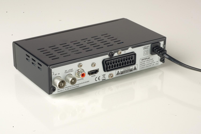 DVB-T Receiver ohne Festplatte Vantage VT-91 T-HD im Test, Bild 3