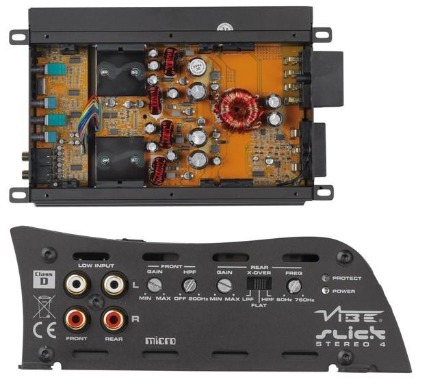 test car hifi endstufe 4 kanal vibe slick stereo 4. Black Bedroom Furniture Sets. Home Design Ideas