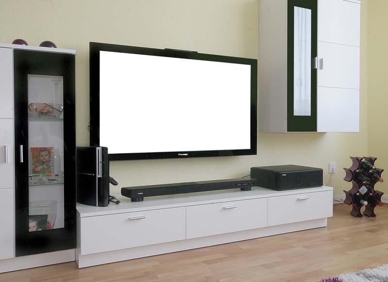 Soundbar: Vier Soundbar-Systeme, Bild 1