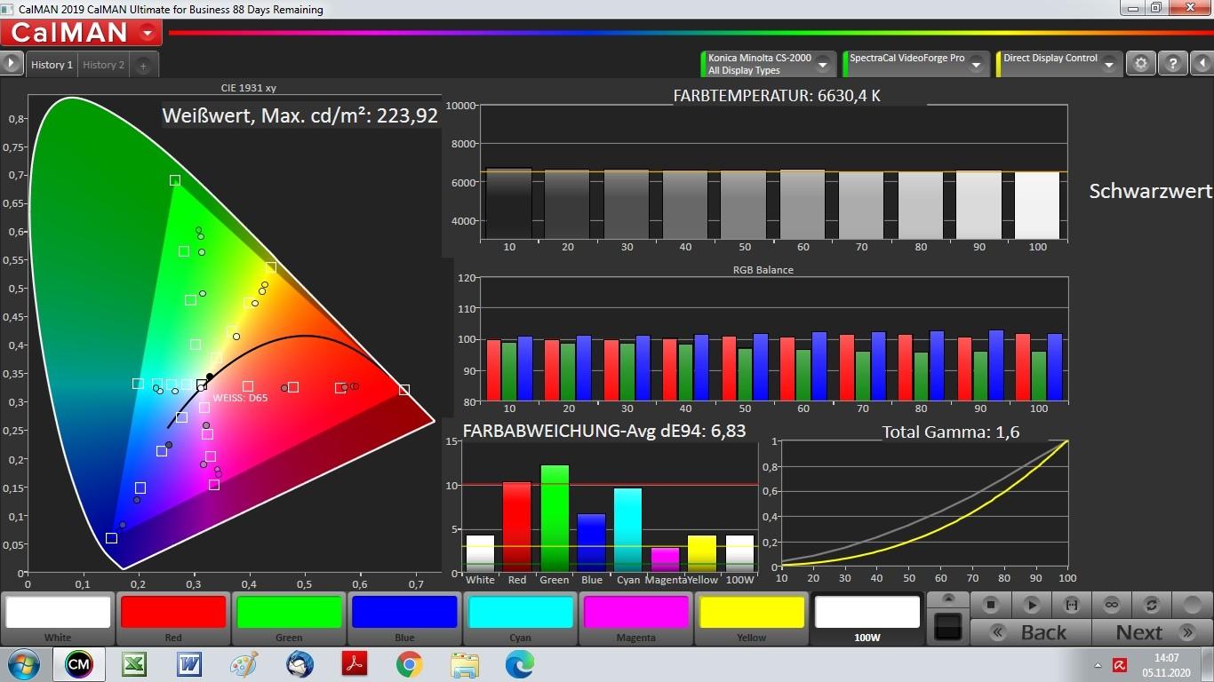 Beamer ViewSonic X100-4K im Test, Bild 14