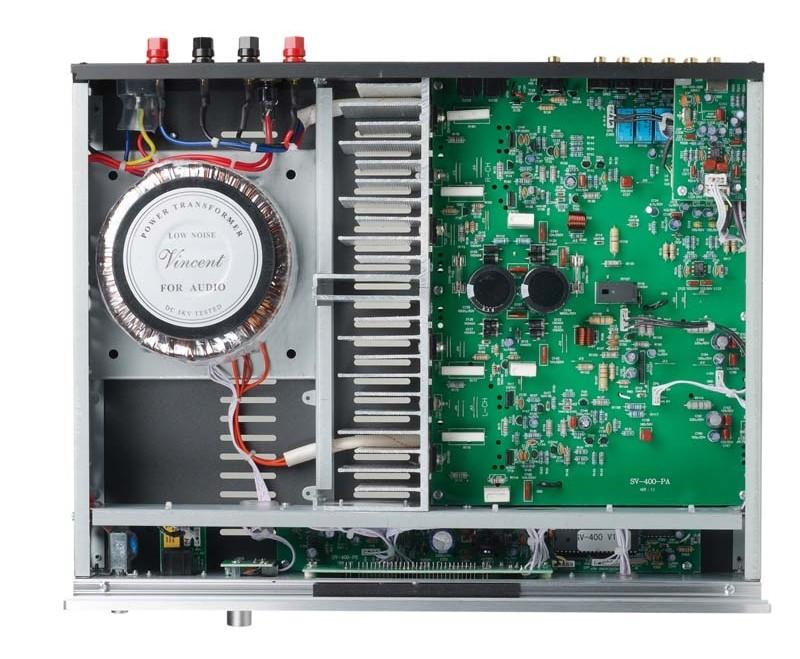 CD-Player Vincent CD-400, Vincent SV-400, Vincent STU-400 im Test , Bild 2