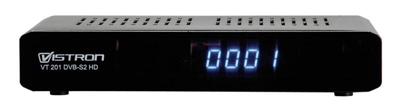 Sat Receiver ohne Festplatte Vistron VT201 DVB-S2 HD im Test, Bild 1