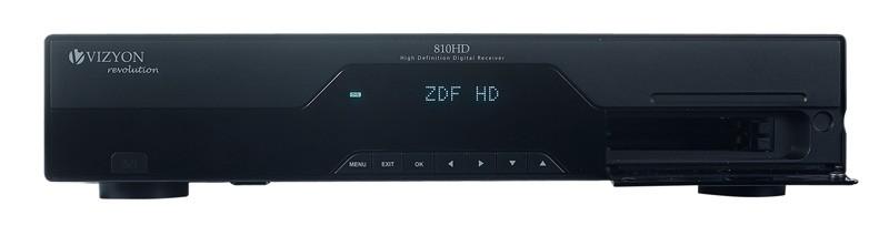 Sat Receiver ohne Festplatte Vizyon 810 HD im Test, Bild 2