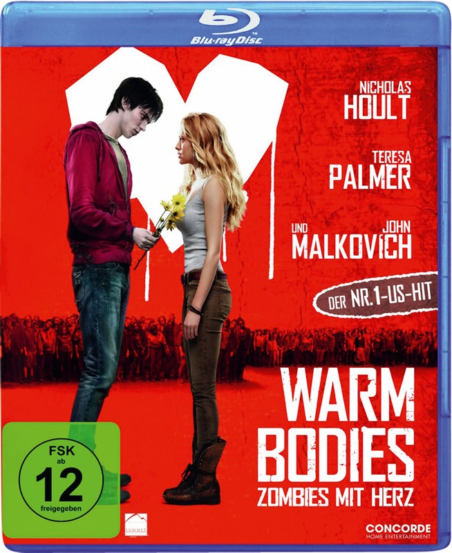 Blu-ray Film Warm Bodies (Concorde) im Test, Bild 1
