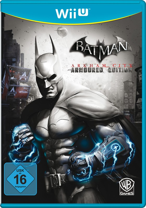 Games Wii U Warner Interactive Batman Arkham City Armoured Edition im Test, Bild 1