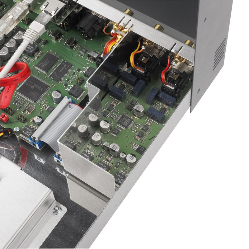 DLNA- / Netzwerk- Clients / Server / Player Weiss Engineering MAN 301, Klangwerk Ella im Test , Bild 5