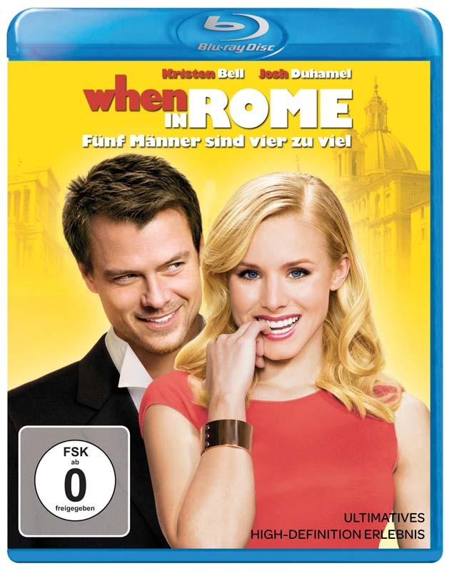 Blu-ray Film When in Rome (Walt Disney) im Test, Bild 1