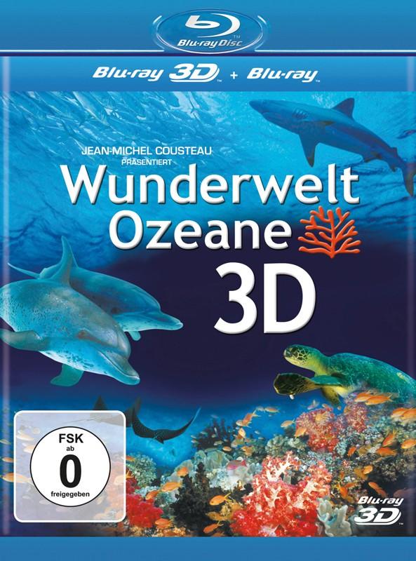 Blu-ray Film Wunderwelt Ozeane 3D (Universal) im Test, Bild 1