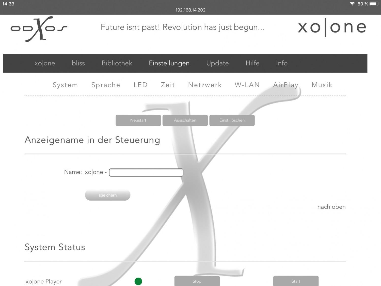 Musikserver X-Odos xo|one Plus im Test, Bild 3