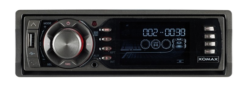 1-DIN-Autoradios Xomax XM-RSU202 im Test, Bild 1