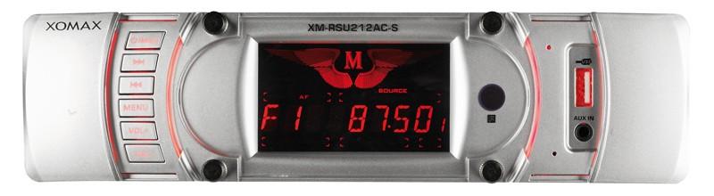 1-DIN-Autoradios Xomax XM-RSU212AC-B/S im Test, Bild 1